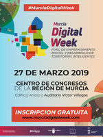 Cartel del Foro Murcia Digital Week