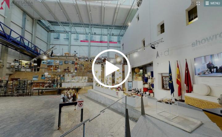 Visita virtual en el Centro Regional de Artesanía de Murcia