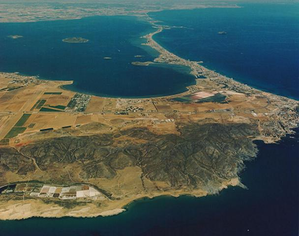 Vista general costa Mar menor