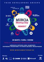 Cartel anunciador de 'Murcia Meet Up'