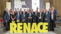 El presidente de la Comunidad, Fernando López Miras, presenta el 'Plan Renace'.