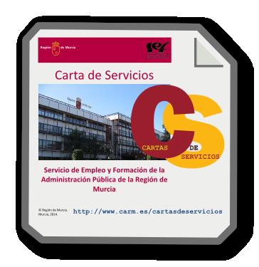 Lofotipo carta de servicios del servicio de for Oficinas sef murcia